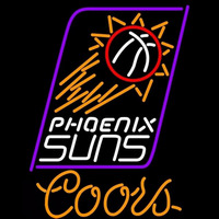 Coors Phoenix Suns NBA Beer Sign Neon Sign