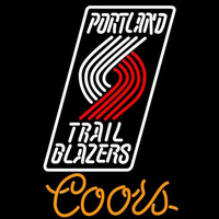 Coors Portland Trail Blazers NBA Beer Sign Neon Sign
