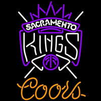 Coors Sacramento Kings NBA Beer Sign Neon Sign