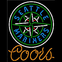 Coors Seattle Mariners MLB Beer Sign Neon Sign