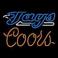 Coors Toronto Blue Jays MLB Beer Sign Neon Sign