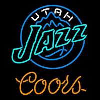 Coors Utah Jazz NBA Beer Sign Neon Sign
