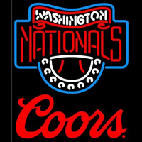 Coors Washington Nationals MLB Beer Sign Neon Sign