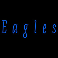Coppin State Eagles Wordmark 2004 Pres Logo NCAA Neon Sign Neon Sign