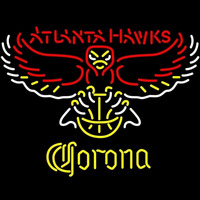 Corona Atlanta Hawks NBA Beer Sign Neon Sign