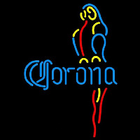 Corona Blue Parrot Beer Sign Neon Sign