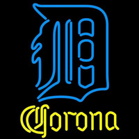Corona Detroit Tigers MLB Beer Sign Neon Sign