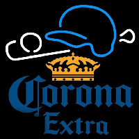Corona E tra Baseball Beer Sign Neon Sign