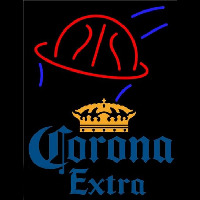 Corona E tra Basketball Beer Sign Neon Sign