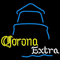 Corona E tra Day Lighthouse Beer Sign Neon Sign