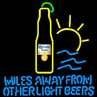 Corona E tra Miles Away From Other Beers Beer Sign Neon Sign