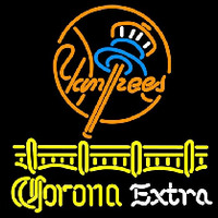 Corona E tra New York Yankees Beer Sign Neon Sign