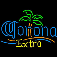 Corona E tra Palm Tree Beer Sign Neon Sign