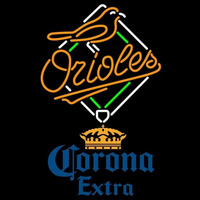 Corona Extra Baltimore Orioles MLB Beer Sign Neon Sign
