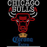 Corona Extra Chicago Bulls NBA Beer Sign Neon Sign