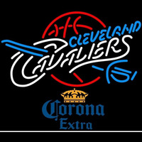 Corona Extra Cleveland Cavaliers NBA Beer Sign Neon Sign