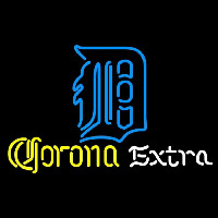 Corona Extra Detroit Tigers MLB Beer Sign Neon Sign