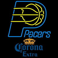 Corona Extra Indiana Pacers NBA Beer Sign Neon Sign