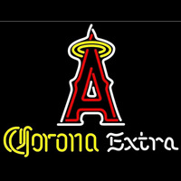 Corona Extra Light Anaheim Angels MLB Beer Sign Neon Sign