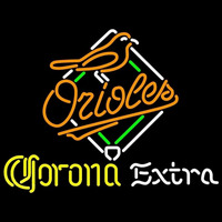 Corona Extra Light Baltimore Orioles MLB Beer Sign Neon Sign