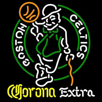 Corona Extra Logo Boston Celtics NBA Beer Sign Neon Sign