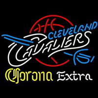 Corona Extra Logo Cleveland Cavaliers NBA Beer Sign Neon Sign