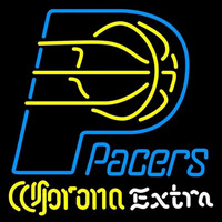 Corona Extra Logo Indiana Pacers NBA Beer Sign Neon Sign