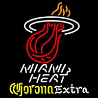 Corona Extra Logo Miami Heat NBA Beer Sign Neon Sign
