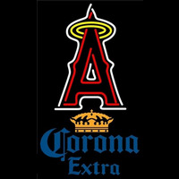 Corona Extra Los Angeles Angels of Anaheim MLB Beer Sign Neon Sign