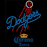 Corona Extra Los Angeles Dodgers MLB Beer Sign Neon Sign