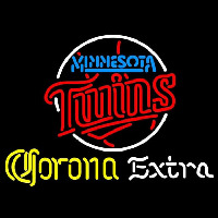 Corona Extra Minnesota Twins MLB Beer Sign Neon Sign