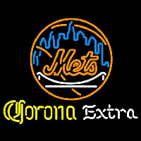 Corona Extra New York Mets MLB Beer Sign Neon Sign