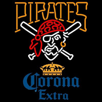 Corona Extra Pittsburgh Pirates MLB Beer Sign Neon Sign
