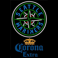 Corona Extra Seattle Mariners MLB Beer Sign Neon Sign