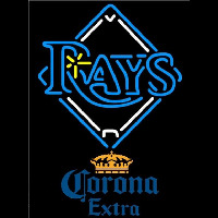 Corona Extra Tampa Bay Rays MLB Beer Sign Neon Sign
