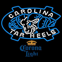 Corona Extra Unc North Carolina Tar Heels Beer Sign Neon Sign