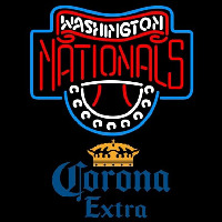 Corona Extra Washington Nationals MLB Beer Sign Neon Sign