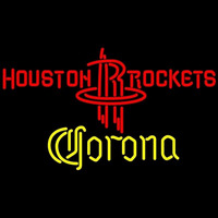 Corona Houston Rockets NBA Beer Sign Neon Sign