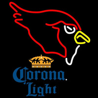Corona Light Arizona Cardinals NFL Neon Sign   x Neon Sign