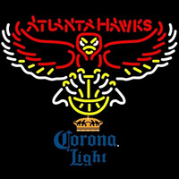 Corona Light Atlanta Hawks NBA Beer Sign Neon Sign