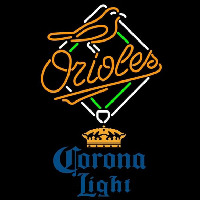 Corona Light Baltimore Orioles MLB Beer Sign Neon Sign