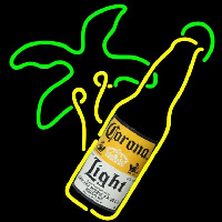 Corona Light Bottle Beer Sign Neon Sign