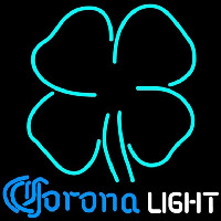Corona Light Clover Beer Sign Neon Sign