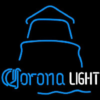 Corona Light Day Lighthouse Beer Sign Neon Sign