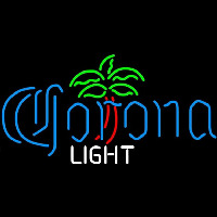 Corona Light Dominator Palm Tree Beer Sign Neon Sign