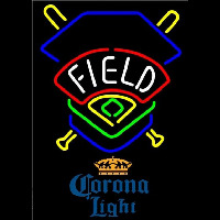 Corona Light Field Colorado Rockies Beer Sign Neon Sign