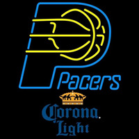 Corona Light Indiana Pacers NBA Beer Sign Neon Sign
