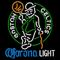 Corona Light Logo Boston Celtics NBA Beer Sign Neon Sign