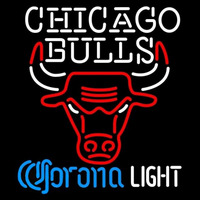 Corona Light Logo Chicago Bulls NBA Beer Sign Neon Sign