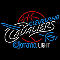 Corona Light Logo Cleveland Cavaliers NBA Beer Sign Neon Sign